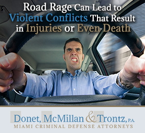 Picture of a Driver with Road Rage in Miami